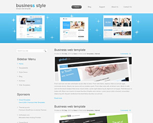 BusinessHighway Website Template