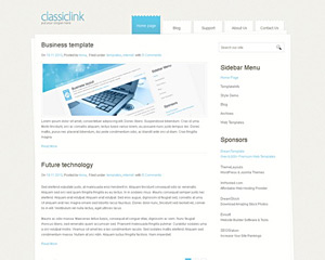 ClasslicLink Website Template