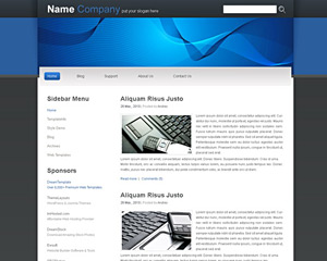 Dapple Website Template