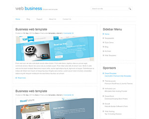 JetBiz Website Template