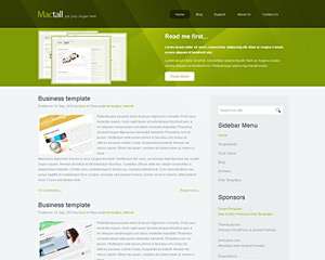 MacTall Website Template